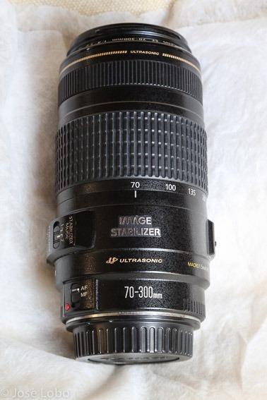 Canon Ef Lente F/4-5.6 Is Usm De 70mm A 300mm Para Cámaras