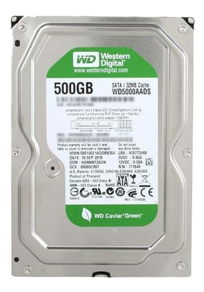 Disco Duro 500gb Western Digital 32mb Sata Iii 3.5 Pc/dvr