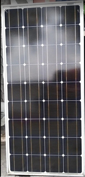 Panel Solar Monocristalino 100 Watts Saecsa
