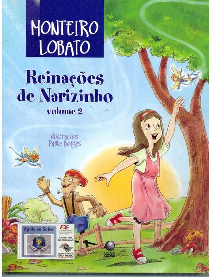 Livro Reinações De Narizinho - Vol. 2