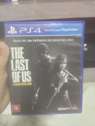 Promoção!! Last Of Us Remasterizado Midia Fisica Usado