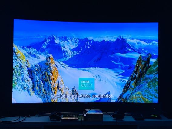 Smart Tv Qled 65 Uhd 4k Curva Samsung Q8c