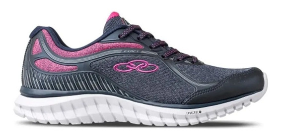 Tenis Olympikus Exact Marinho/pink Ref.: 43895559