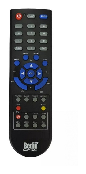 Controle Original Receptor Bedinsat Bs 6000 Bedin Sat
