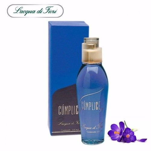 Perfume Cumplice 120 Ml Lacqua Di Fiori Original©