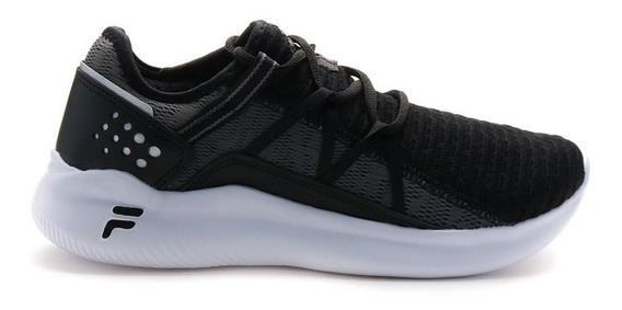 Zapatillas Fila Quark Negras - Corner Deportes