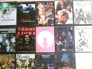 Dvd Rock Y Musica En Perfecto Estado