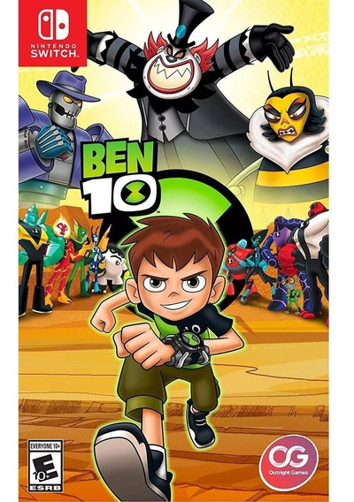 Ben 10 - Switch Midia Fisica Lacrado Original