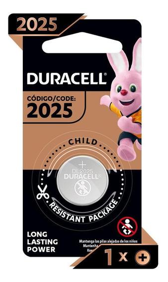 Pilha Duracell Alcalina Moeda Cr 2025