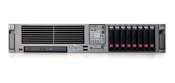Servidor Hp Proliant Dl380 G5 2x Xeon 300gb 8gb Ram
