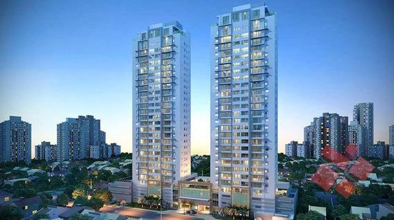 Apartamento Com 4 Dormitórios À Venda, 174 M² Por R$ 1.091.100,68 - Setor Marista - Goiânia/go - Ap0313