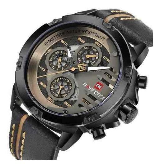 Relógio Naviforce 9110 Lançamento Original Lindo Presente !!