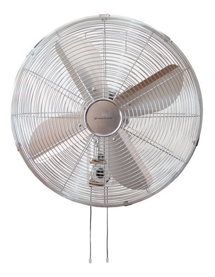 Ventilador Familiar De Pared Cromo Martin & Martin 40 Cm