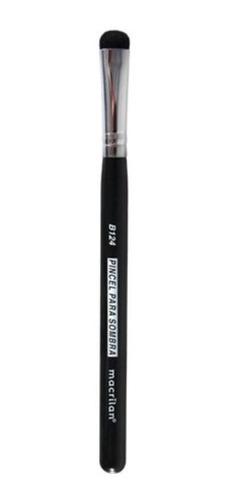 Imagem 1 de 1 de Pincel Maquiagem Macrilan Profissional B124 P Sombra Linha B