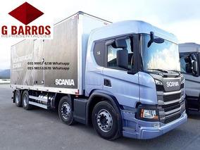 Scania P320 8x2 Aut Bau Camará Fria Ibiporã Thermo King 2019