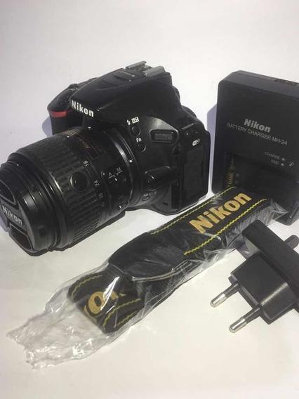 Nikon D5500 Kit 18-55m Impecável De Uso C/23 Mil Clicks