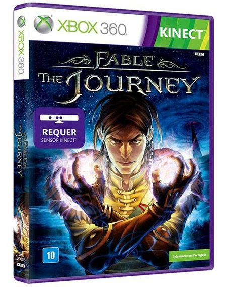 Fable: The Journey - Xbox 360 - Mídia Física E Original