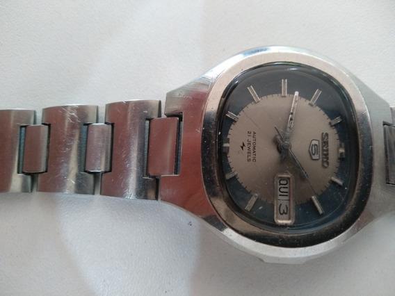 Relógio Seiko Automático Antigo Modelo 5
