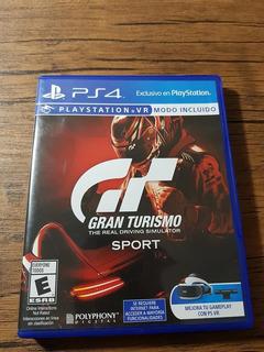 Gran Turismo Sport Playstation 4 Ps4 Buen Estado !!