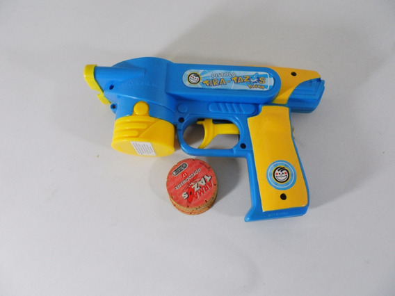 Pistola Lanza Tazos Pepsico Liniers Envios Con Tazos Usados