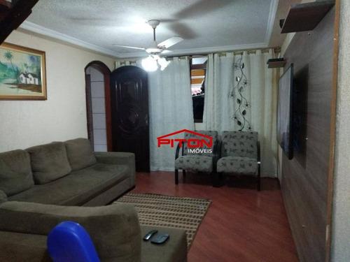 Sobrado Com 3 Dormitórios À Venda, 232 M² Por R$ 580.000,00 - Vila Sílvia - São Paulo/sp - So2834
