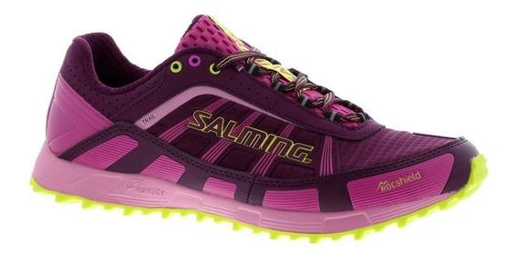 Zapatillas Salming Trail T3 Mujer Trekking Running Importada