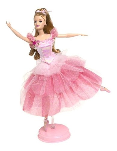 2000 Flower Bailarina Barbie Doll From The Nutcracker