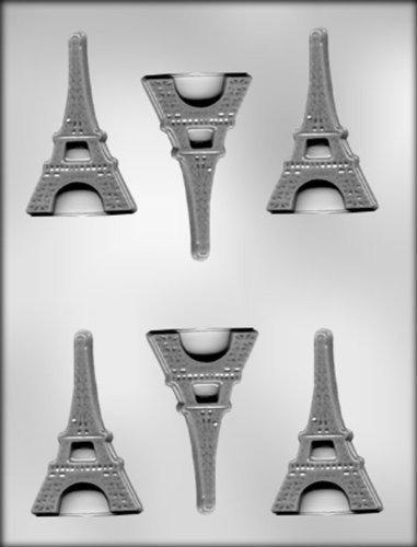Ck Products Molde De Chocolate Plano De Torre Eiffel De 3 Pu