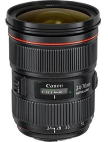 Lente 24-70mm F2.8 Canon Serie Il