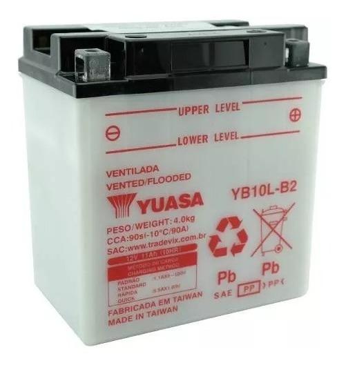 Bateria Yuasa Yb10l.b2 - Gs500e Kawasaki Gsx600 F