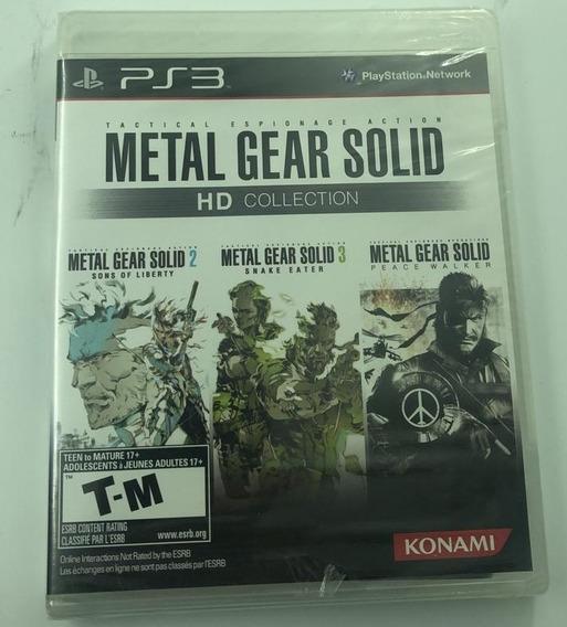 Jogo Mídia Física Metal Gear Solid Ps3