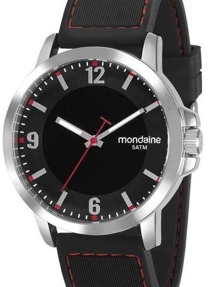 Relógio Mondaine Masculino Preto 99392g0mvni1