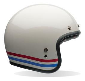 Capacete Bell Custom 500 Stripes Pearl - Moto Café Racer
