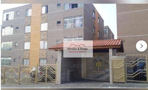 Apartamento À Venda, 64 M² Por R$ 200.000,00 - Cocaia - Guarulhos/sp - Ap2685