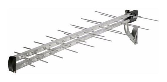 Antena Tv Externa Log Kit Ae-900i 34 Elementos