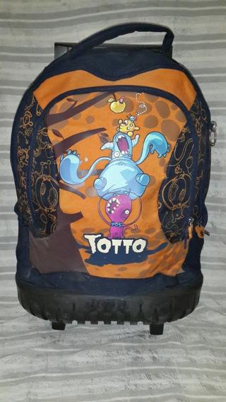 Bolso De Ruedas Totto Original