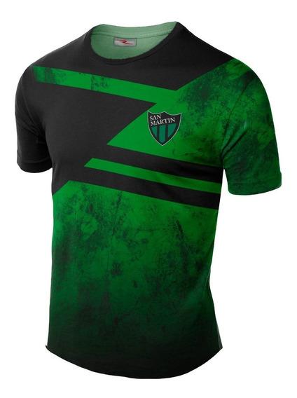 Remera Slim Fit Club Atlético San Martin Sj Ranwey Fr084