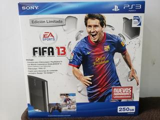 Ps3 Nuevo Sellado 250 Gb Version Fifa2013