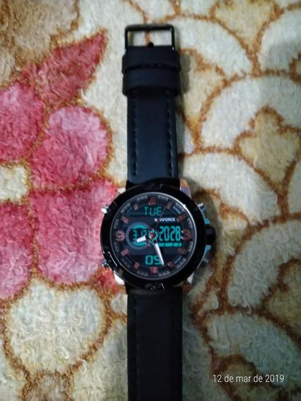 Relógio Naviforce Lindo Usado Mais Bem Conservado Em Funcion