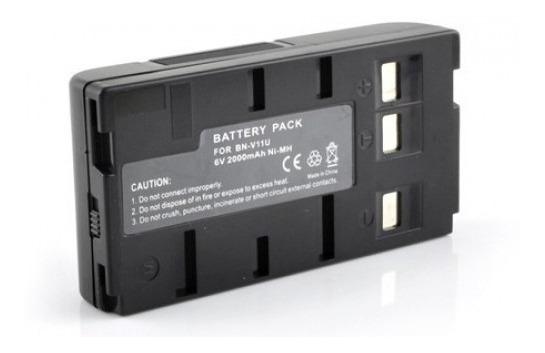 Bateria 6v 2100mah Para Filmadora Jvc Bn-v10 Bn-v11 Bn-v12