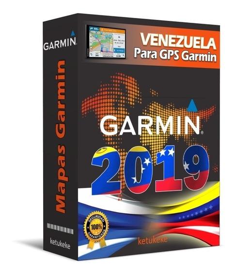 Mapa De Venezuela Garmin + Puntos De Interés | Versión 2019