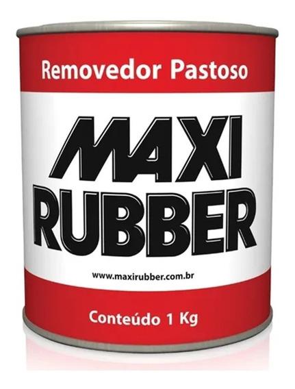 Removedor De Tinta Pastoso Maxi Rubber 1kg