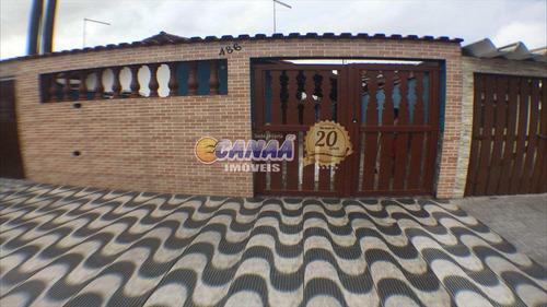 Casa Com 1 Dorm, Balneário Itaguai, Mongaguá - R$ 212 Mil, Cod: 5919 - V5919