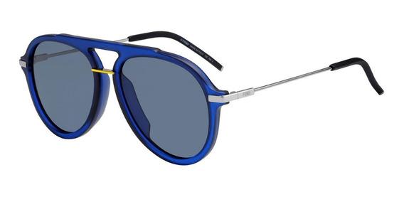 Lentes Gafas De Sol Fendi Ffm011s Fantastic Aviator Italy