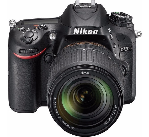 Nikon D7200, Dx, Wifi Com Lente 18-140mm Vr + Extreme De 32g
