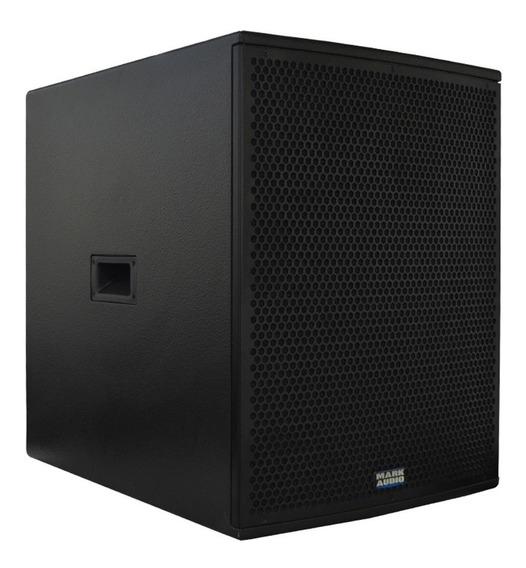Caixa Amplificada Mark Audio Ativa De Grave Sa-1200 250w 15