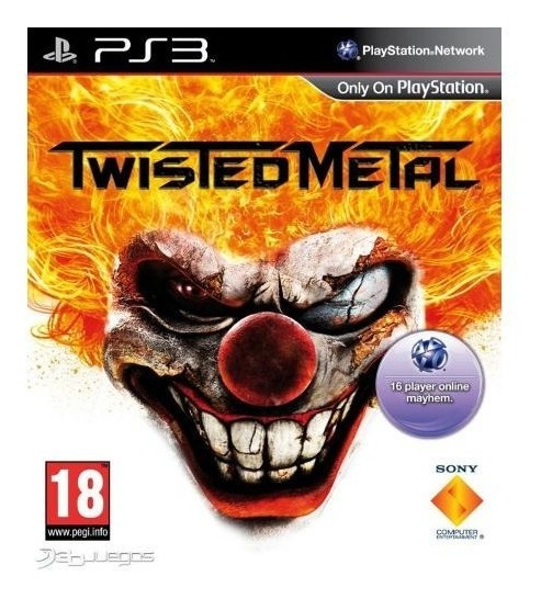Game Play3 - Twisted Metal - Semi-novo Jogo Ps3