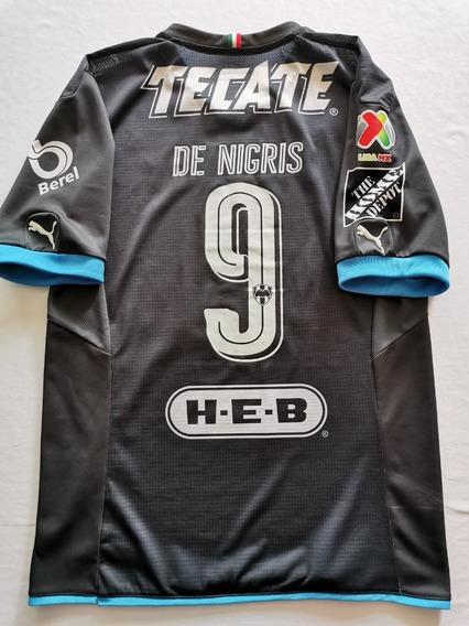 Jersey Camiseta Rayados De Monterrey Aldo De Nigris Mediana