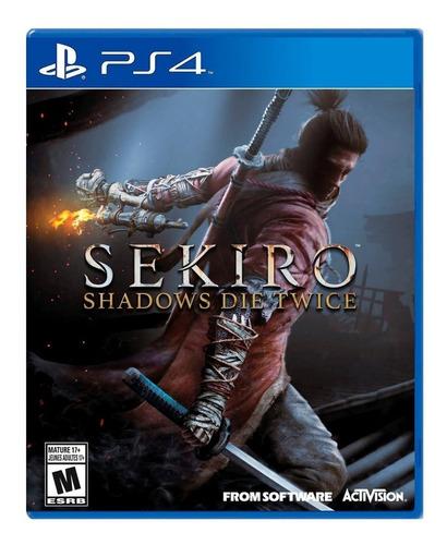 Imagen 1 de 4 de Sekiro: Shadows Die Twice Standard Edition Activision PS4  Físico