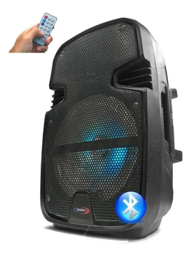 Liquido Bafle Potenciado 8'' Portatil Bluetooth Usb C Remoto